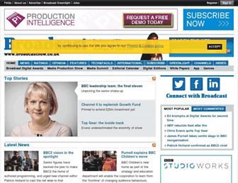 Thumbshot of Broadcastnow.co.uk