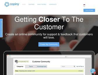 Thumbshot of Copiny.com