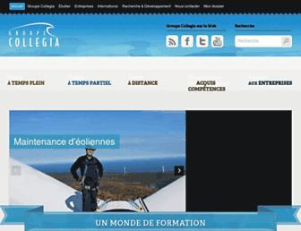 collegia.qc.ca screenshot