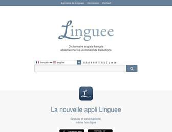 linguee.fr screenshot