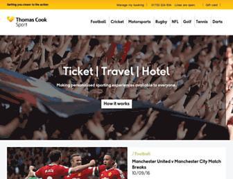 Thumbshot of Thomascooksport.com