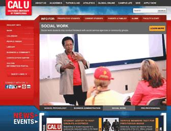 Thumbshot of Calu.edu