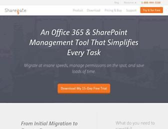 Thumbshot of Share-gate.com