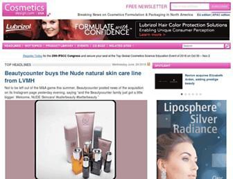 Thumbshot of Cosmeticsdesign.com
