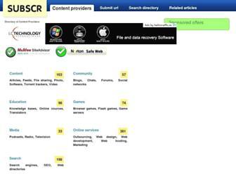 Thumbshot of Subscr.com