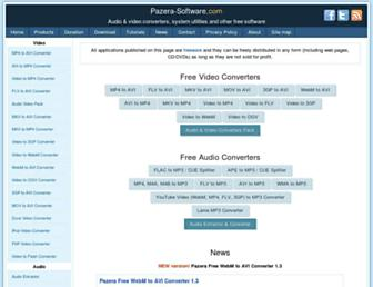 pazera-software.com screenshot