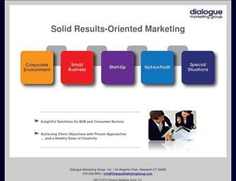 dialoguemarketinggroup.com screenshot