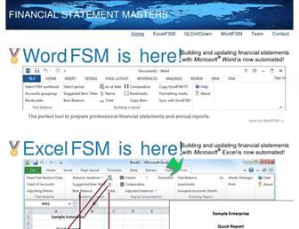 excel-fsm.com screenshot