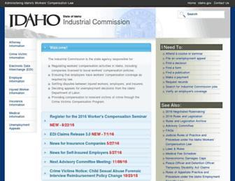 iic.idaho.gov screenshot