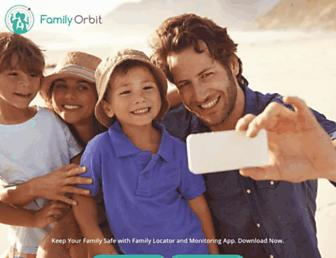 familyorbit.com screenshot
