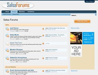 salsaforums.com screenshot