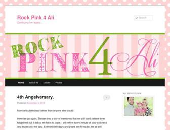 Thumbshot of Rockpink4ali.com
