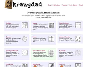 krazydad.com screenshot