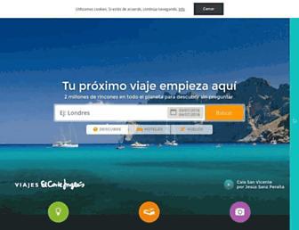 minube.com screenshot