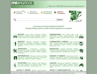 milanuncios.com screenshot
