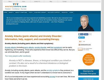 Thumbshot of Anxietycentre.com