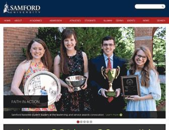 Thumbshot of Samford.edu