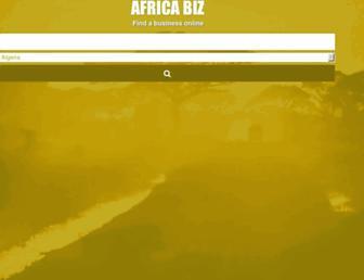 africabizinfo.com screenshot