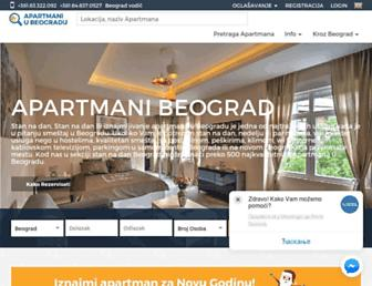 apartmani-u-beogradu.com screenshot
