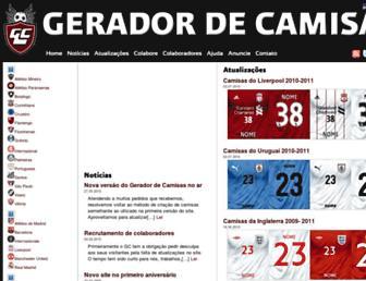 geradordecamisas.com screenshot