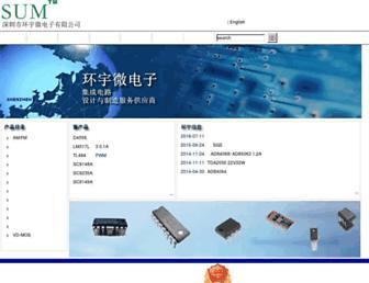shenzhensum.com screenshot