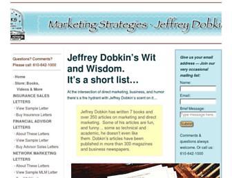 jeffreydobkin.com screenshot