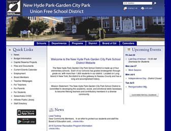 nhp-gcp.org screenshot