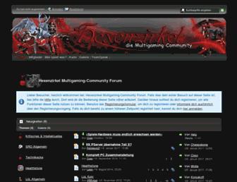 hx-community.net screenshot