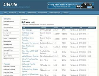 litefile.com screenshot