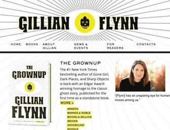 Thumbshot of Gillian-flynn.com