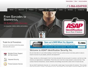 asapident.com screenshot