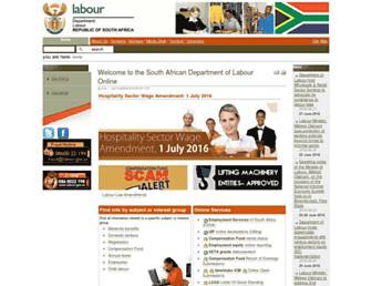 Thumbshot of Labour.gov.za