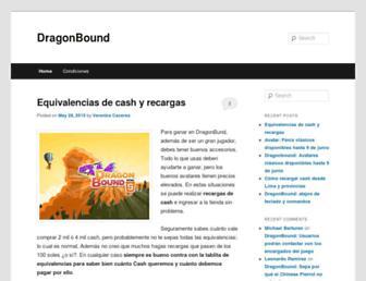 dragonbound.pe screenshot