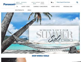shop.panasonic.com screenshot