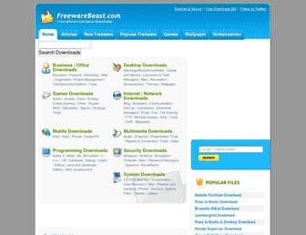 freewarebeast.com screenshot