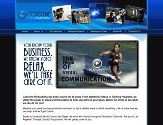 coastlinevideo.com screenshot