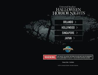 Thumbshot of Halloweenhorrornights.com