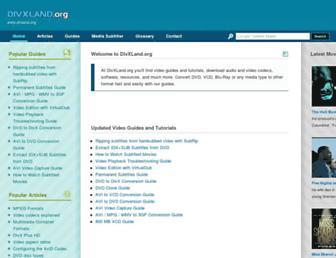divxland.org screenshot