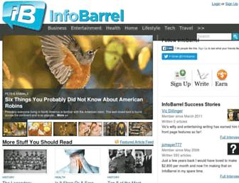 Thumbshot of Infobarrel.com