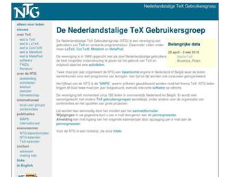 ntg.nl screenshot