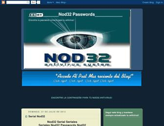 passwordsnod32.blogspot.com screenshot
