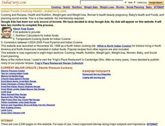 Thumbshot of Indiacurry.com