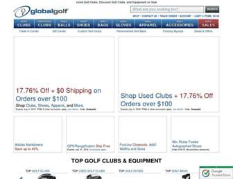Thumbshot of Globalgolf.com