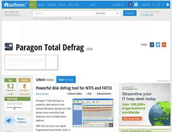paragon-total-defrag.en.softonic.com screenshot