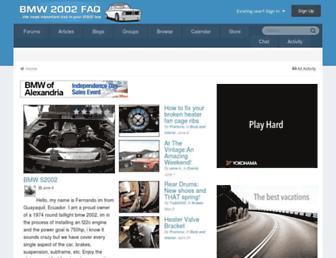 bmw2002faq.com screenshot