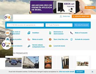 olx.ro screenshot