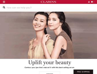 clarins.ca screenshot