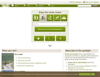 routeyou.com screenshot