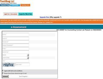gic.testbag.com screenshot