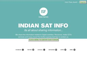 Thumbshot of Indiansatinfo.com